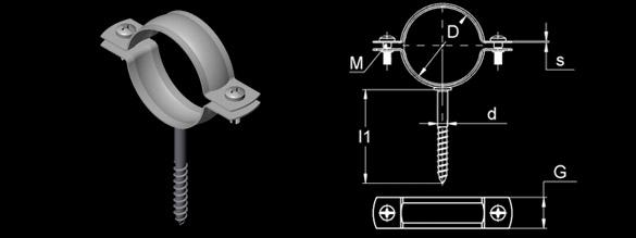 Trifonlu Standart Kelepçe – Lastiksiz